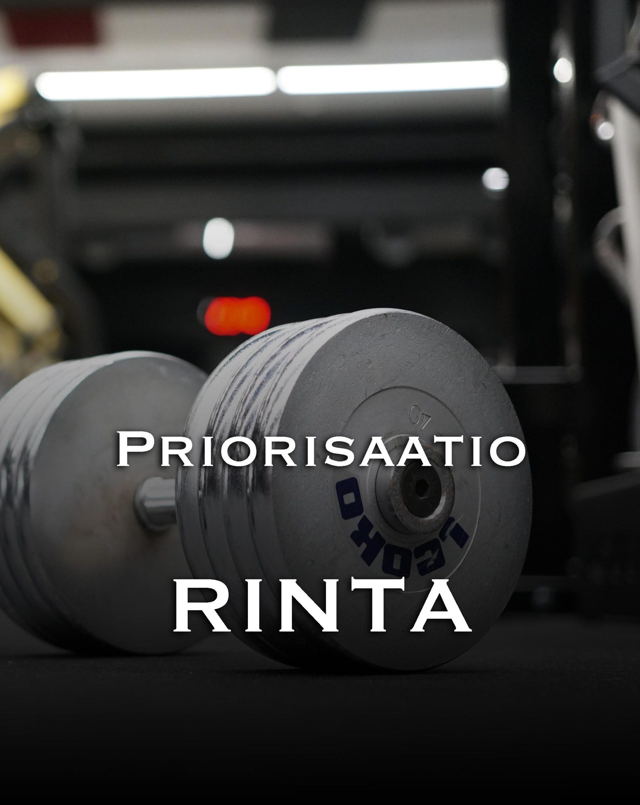 Priorisaatio Rinta