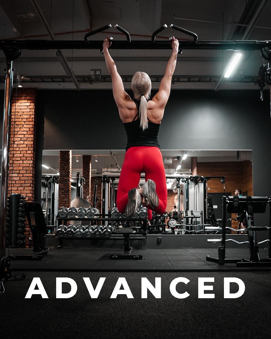 Advanced – treeniohjelma naisille