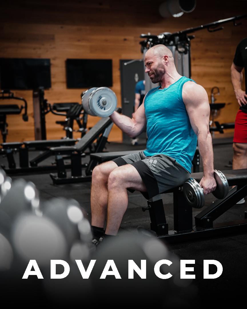 Advanced – treeniohjelma miehille