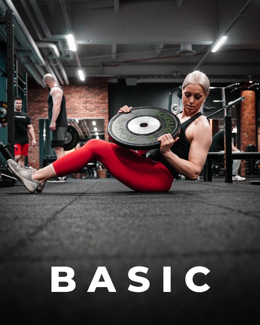 Basic – treeniohjelma naisille