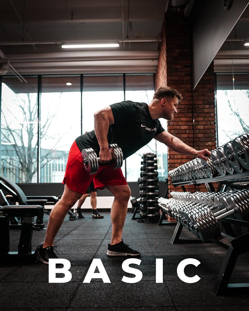 Basic – treeniohjelma miehille